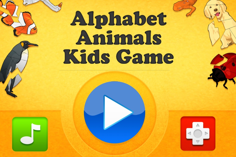 Screenshot Alphabet Animals Kids Game