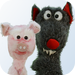 Three Little Pigs Puppet Show Presented by Puppet Art Theater Co.