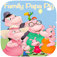 Puzzle Game For Papa Pig Family Edition